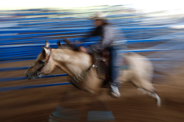 A woman competes in the International Gay Rodeo Association's Rodeo In the Rock in Little Rock, Arkansas, United States April 26, 2015. REUTERS/Lucy Nicholson